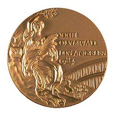 1984 Los Angeles Olympic medal obverse