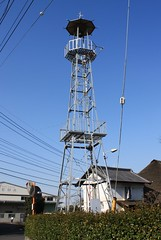 竹間沢の火の見櫓(三芳町)