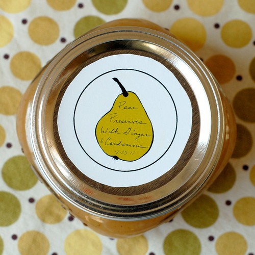 Spiced Pear Preserves by Eve Fox, the Garden of Eating blog, copyright 2012