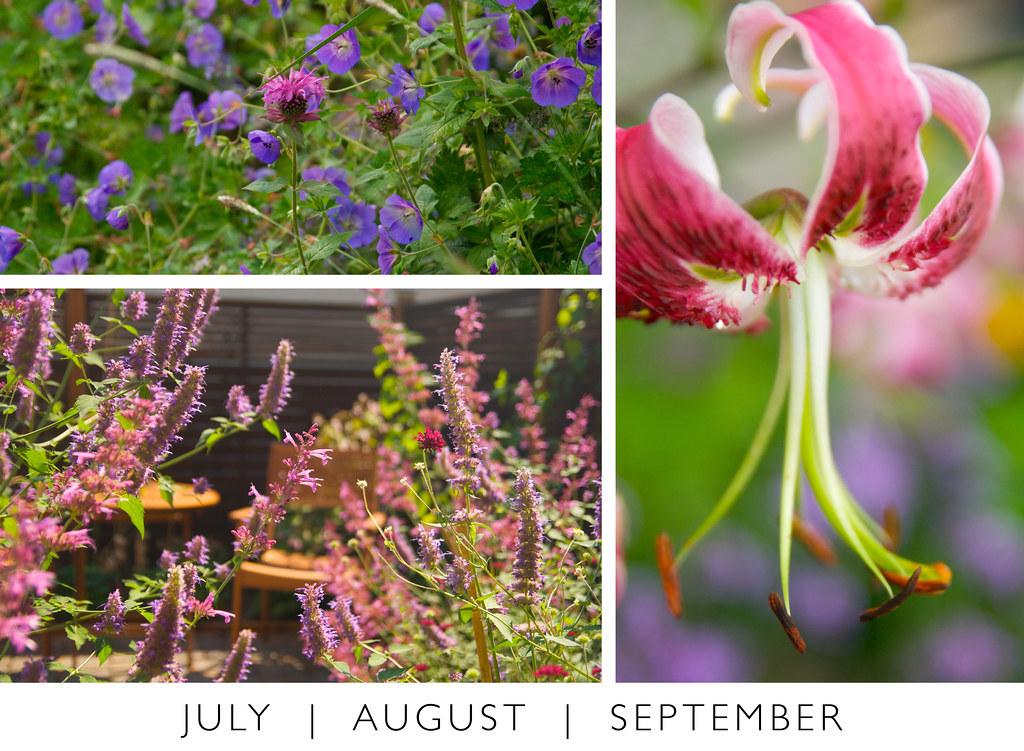 July August September