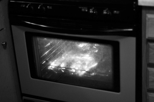 Turn on the Oven Light While Cooking (21/365)
