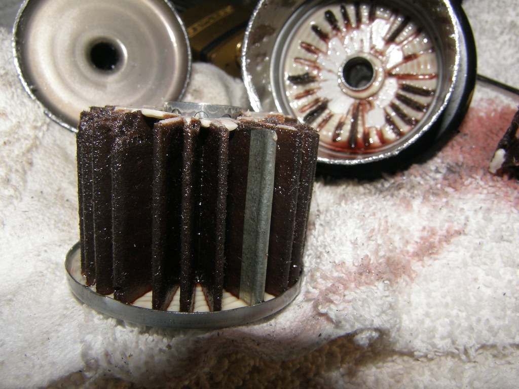 Diy Transmission Filter Unofficial Honda Fit Forums 2015 Odyssey Oil Location For Poops And Giggles I Cut The Old To See What It Looked Like Me Was Clean