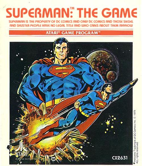 Atari - Jogos que eu lembro - superman