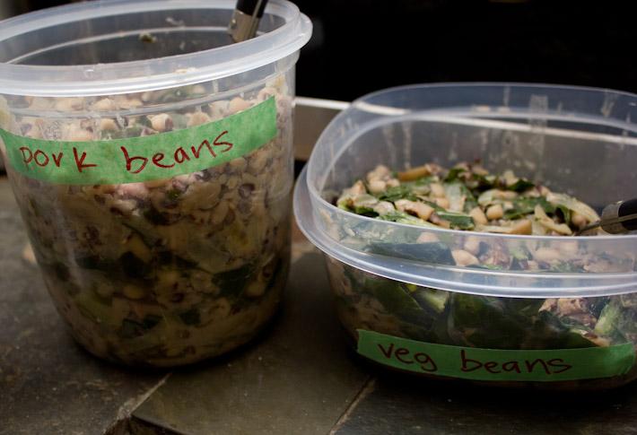 Pork and Veg Beans.