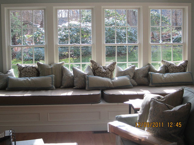 Bay Window Cushions, Bench Cushions, Patio Umbrellas