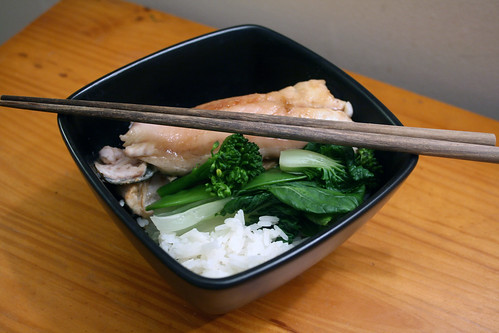 Steamed Sea Bass with Jasmine Rice