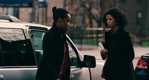 Adepero Oduye and Kim Wayans are a lesbian daughter and unaccepting mother in PARIAH.