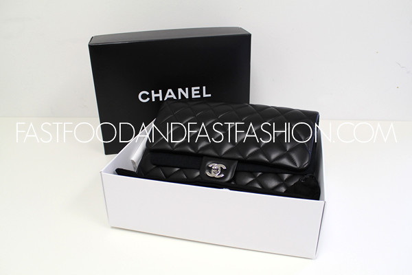 CHANEL FLAP CLUTCH