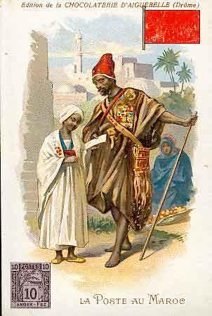 Facteur marocain 1912