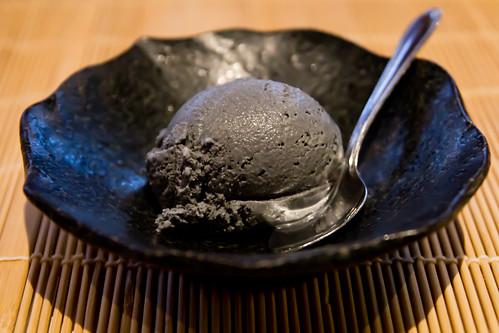 Sesame Ice Cream at Inatei