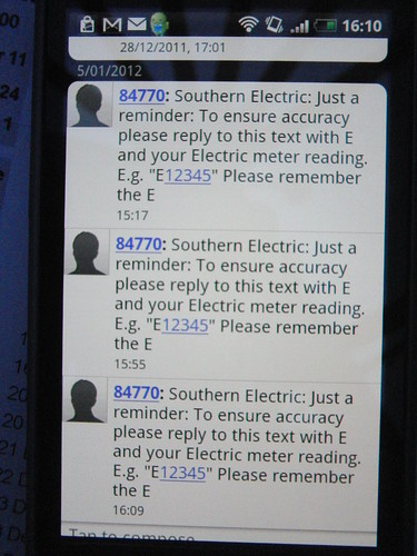Southern Electric harassment