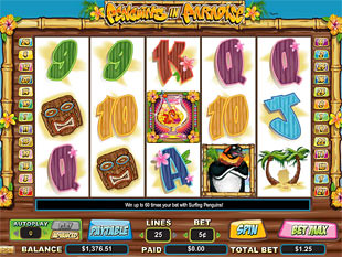 Penguins in Paradise slot game online review