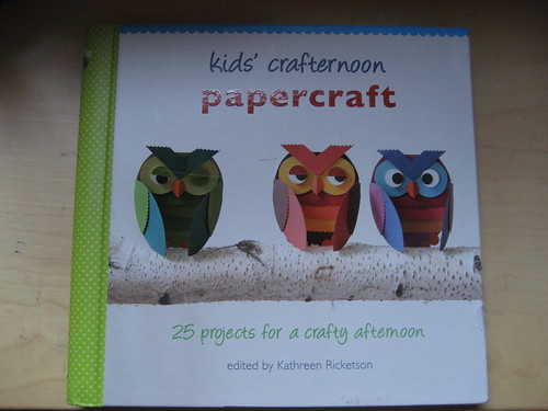 Kids Crafternoon - papercraft