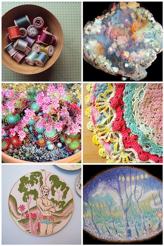 Friday Inspiration: round pretty colors