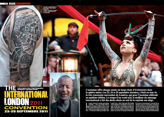 Rise tattoo magazine#17 - sample