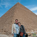 Audrey & Dan at Great Pyramid of Giza - Egypt