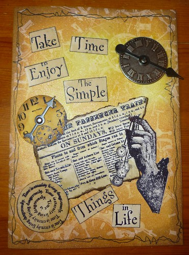 sunday stampers - time