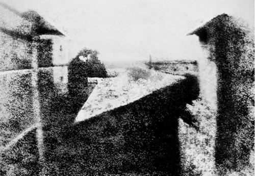 Vista desde la ventana en Le Gras (Joseph Niépce)