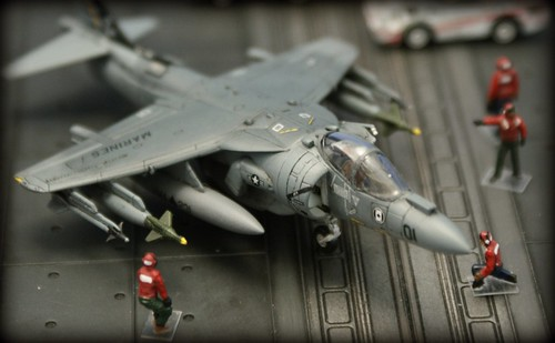 "Old build, new photos - Revell 1/144 AV-8B Harrier II plus - ""Ace of Spades"""