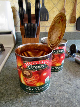 Open Canned Tomatoes