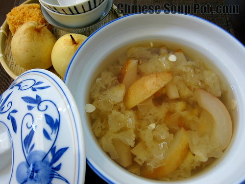 Chinese soup pot delicious soup recipes and tips for optimal health double steamed asian pear almond dessert soup forumfinder