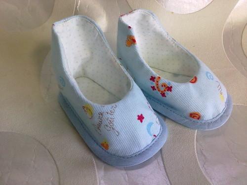 Sapatinho de bebé by ♥Linhas Arrojadas Atelier de costura♥Sonyaxana
