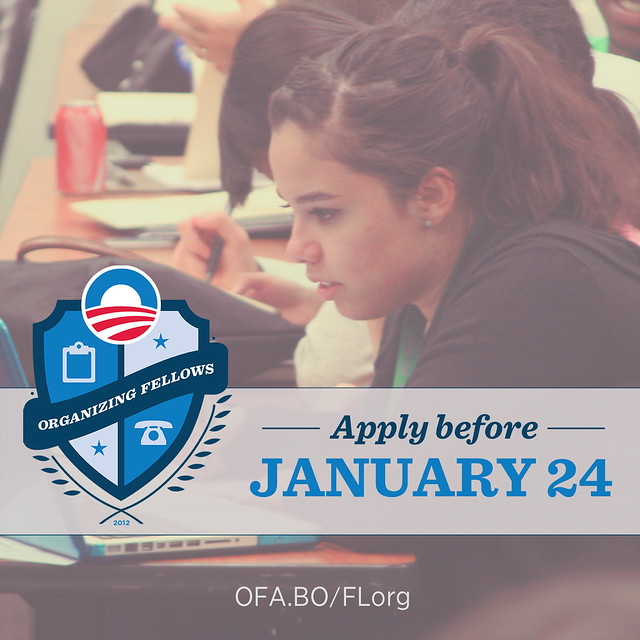 Apply to be an Organizing Fellow in Florida