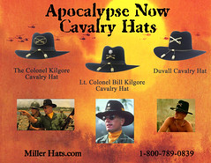 MILLER HATS APOCALYPSE NOW HAT COLLECTION  84793356b118
