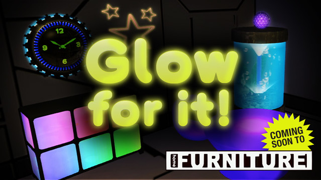 Glowing Items in PlayStation Home