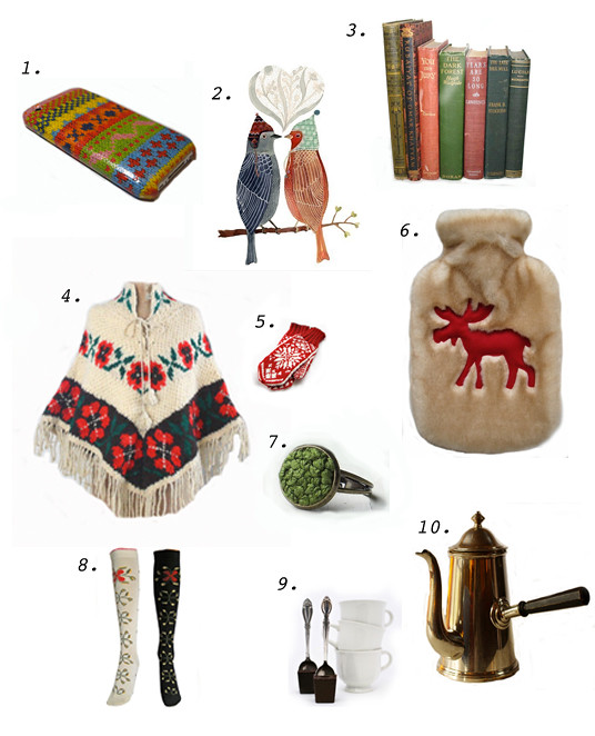 Etsy Winter Favorites 2012