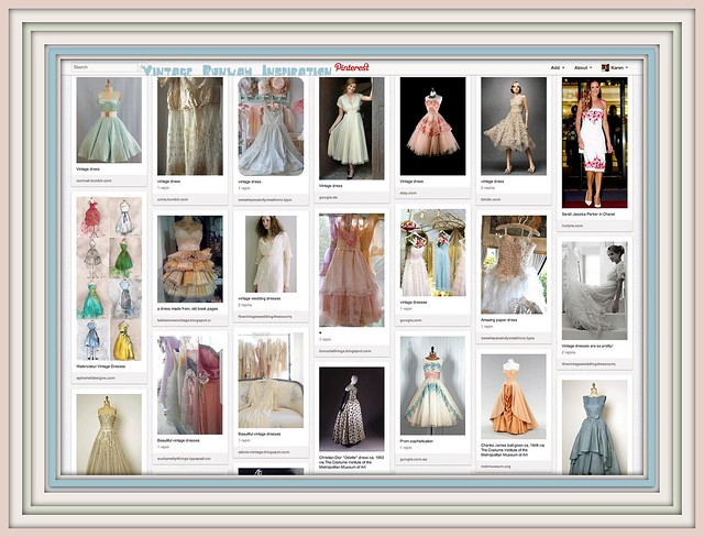 My Vintage Runway inspiration board on Pinterest