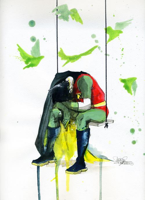 Desenhos Nerds Robin Dc Comics