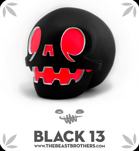 Black 13 calaverita