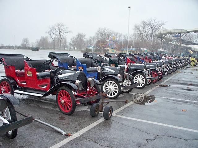 Cedar Point Antique Cars