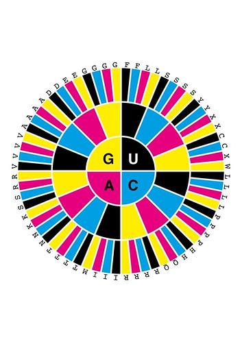 CMYK codon wheel