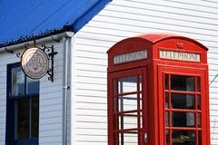 Red Telephone Box, Badachro