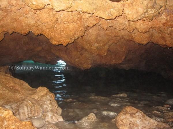 underwater cave in Puerto Galera