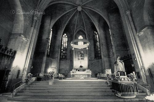 Basílica de Santa Maria de Vilafranca del Penedès by Queralt Vegas