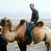 Michael Rymer on a camel, Gansu Province, China by cocoi_m