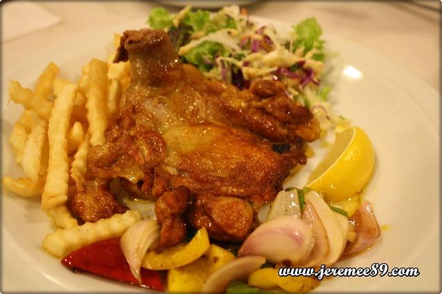 Kaffa Kafe @ China Street - Tikka Masala Chicken