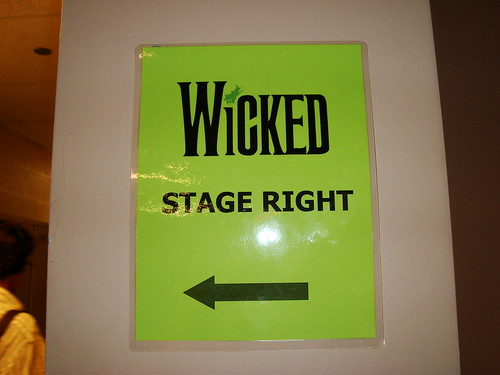 That Time I Got to Play on the Set of Wicked