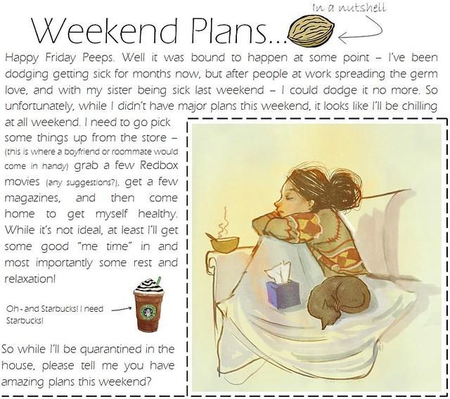 weekend plans 1.20.12
