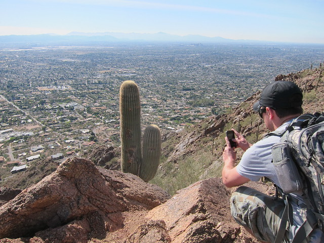 Camelback hike biking Scottsdale Jan 2012 012