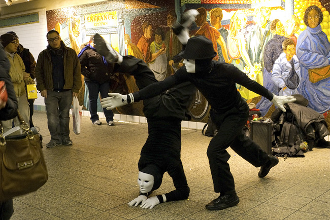 Mimes, 42nd Street