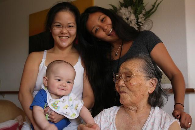 Visiting Great-Grandma Segawa