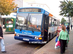 20647 R647 HCD Volvo B10M-55 Northern Counties Paladin. Arndale EASTBOURNE 2