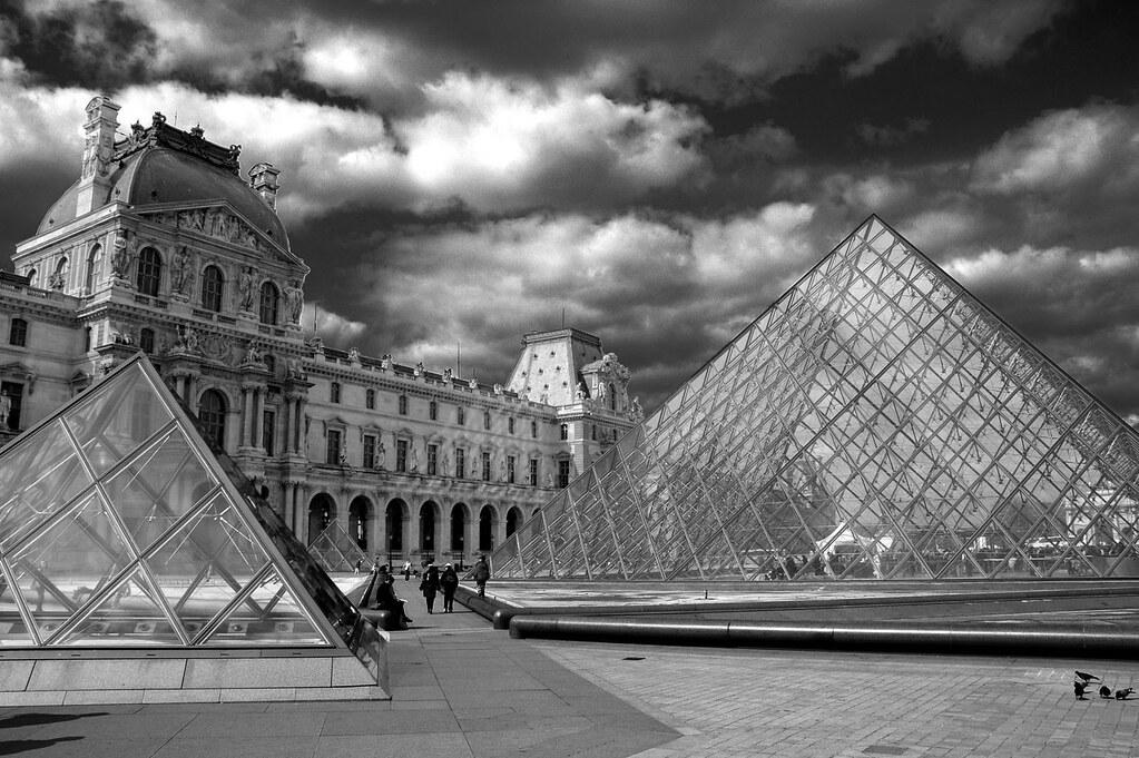 Le Louvre ou... j'aime le N/B !