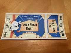 21/366 - Family movie night ticket