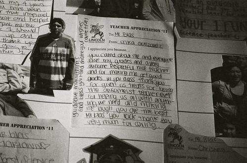 teacher appreciation notes by D.B. Blas