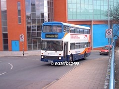 15208 F308 MYJ Volvo B10M-50 Citybus Northern Counties. Cheeke Street EXETER